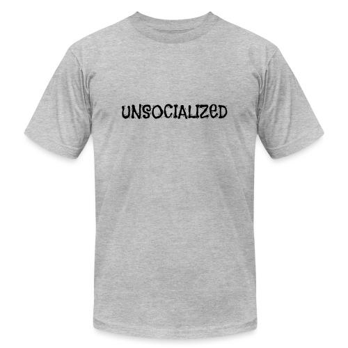 Unsocialized - Unisex Jersey T-Shirt by Bella + Canvas
