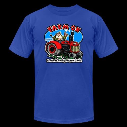 Mr Natural Farm On - Men's  Jersey T-Shirt
