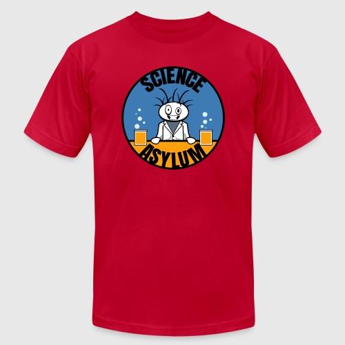 Science Asylum Logo - Unisex Jersey T-Shirt by Bella + Canvas