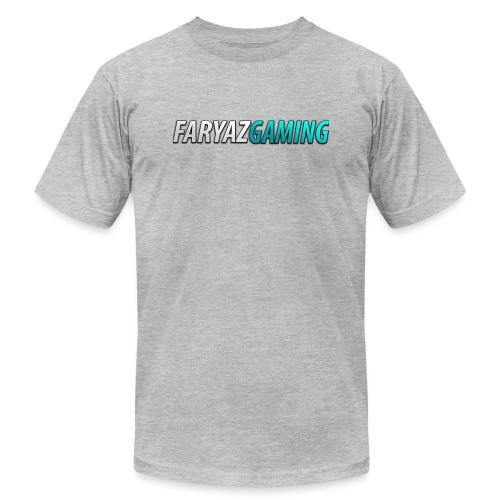FaryazGaming Theme Text - Men's Jersey T-Shirt