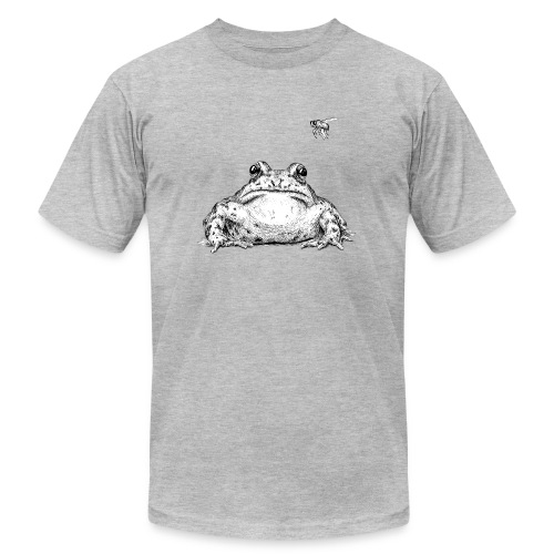 Frog with Fly by Imoya Design - Men's  Jersey T-Shirt