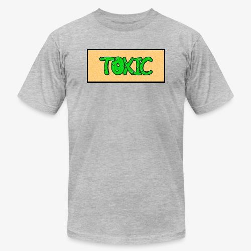 Toxic design v2 Orange - Unisex Jersey T-Shirt by Bella + Canvas