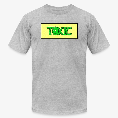 Toxic design v2 Yellow - Unisex Jersey T-Shirt by Bella + Canvas