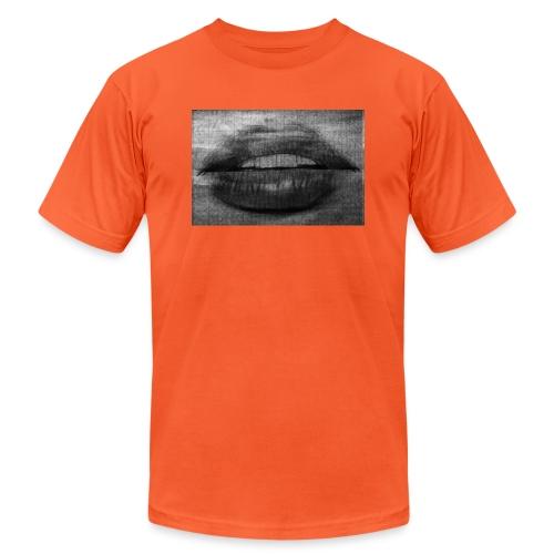 Blurry Lips - Unisex Jersey T-Shirt by Bella + Canvas