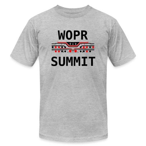 WOPR Summit 0x0 RB - Unisex Jersey T-Shirt by Bella + Canvas