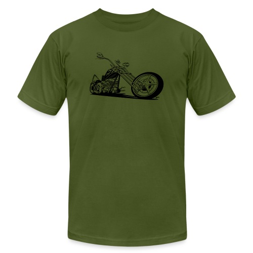 Custom American Chopper Motorcycle - Men's Jersey T-Shirt