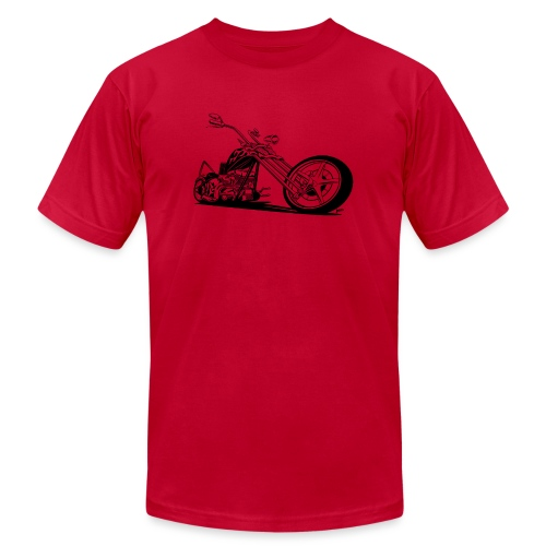 Custom American Chopper Motorcycle - Unisex Jersey T-Shirt by Bella + Canvas