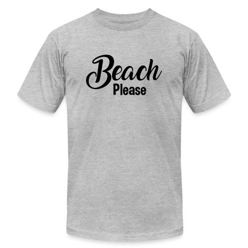 Beach Please - Unisex Jersey T-Shirt by Bella + Canvas