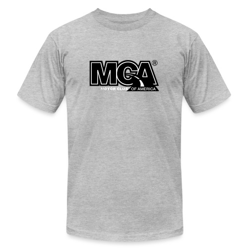 MCA Logo WBG Transparent BLACK TITLEfw fw png - Unisex Jersey T-Shirt by Bella + Canvas