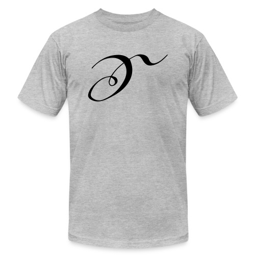 Letter S - Unisex Jersey T-Shirt by Bella + Canvas