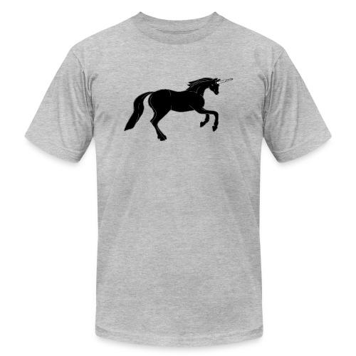 unicorn black - Men's  Jersey T-Shirt