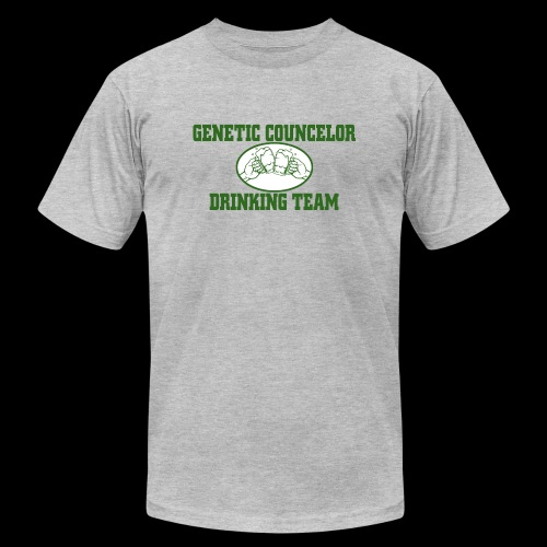 genetic counselor drinking team - Unisex Jersey T-Shirt by Bella + Canvas