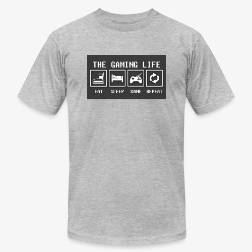 Gaming is life - Unisex Jersey T-Shirt by Bella + Canvas