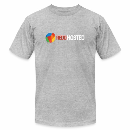REDDHOSTED LOGO - Unisex Jersey T-Shirt by Bella + Canvas