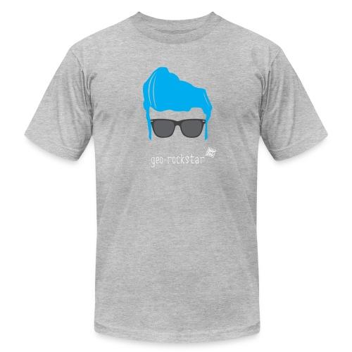 Geo Rockstar (him) - Men's  Jersey T-Shirt