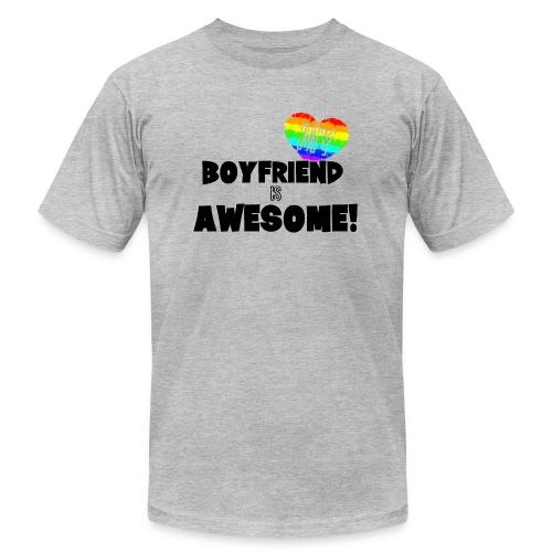 My BoyFriend is Awesome - Men's  Jersey T-Shirt