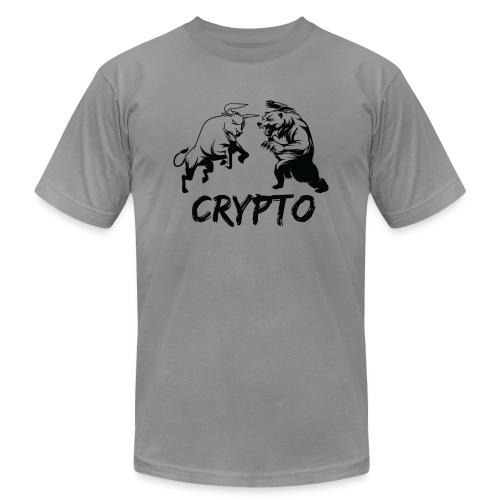 CryptoBattle Black - Men's Jersey T-Shirt