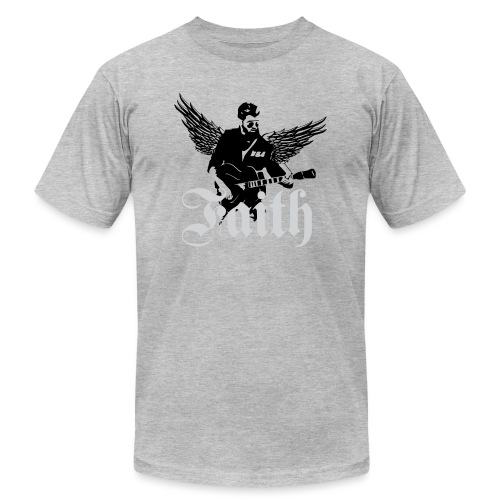 faithwings png - Unisex Jersey T-Shirt by Bella + Canvas