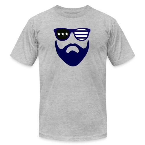 Blue beard-beard gang - Men's  Jersey T-Shirt