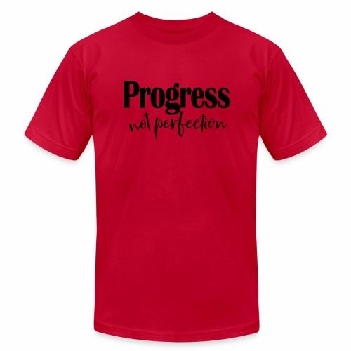 Progress not perfection - Men's  Jersey T-Shirt