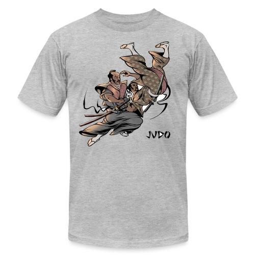 Judo Design Uki Otoshi Throw - Unisex Jersey T-Shirt by Bella + Canvas