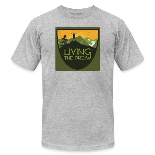 Men's Living the Dream T-Shirt - Unisex Jersey T-Shirt by Bella + Canvas