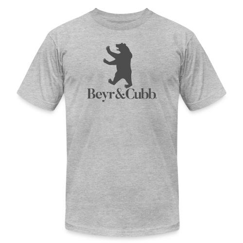 Bear and Cubb Heraldry Bear - Men's  Jersey T-Shirt