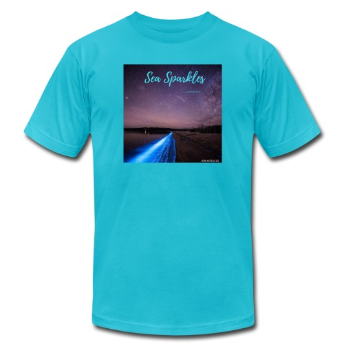 Tasmanian Sea Sparkles - Unisex Jersey T-Shirt by Bella + Canvas