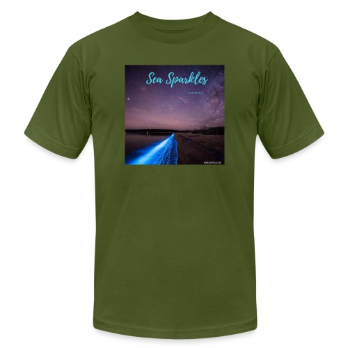 Tasmanian Sea Sparkles - Unisex Jersey T-Shirt by Bella + Canvas