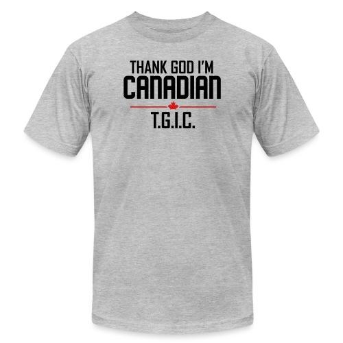 Thank God I m Canadian - Men's Jersey T-Shirt