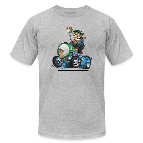 Hot Rod Electric Car Cartoon - Men's Jersey T-Shirt