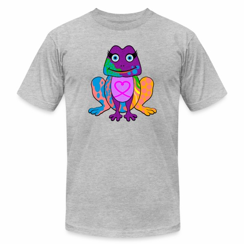I heart froggy - Men's  Jersey T-Shirt