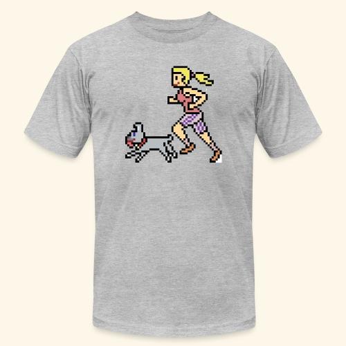RunWithPixel - Unisex Jersey T-Shirt by Bella + Canvas