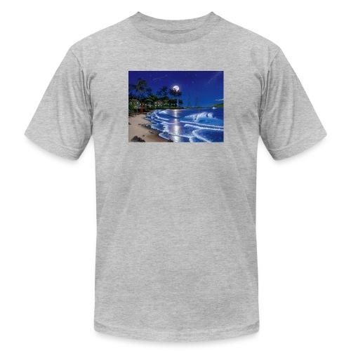 full moon - Unisex Jersey T-Shirt by Bella + Canvas