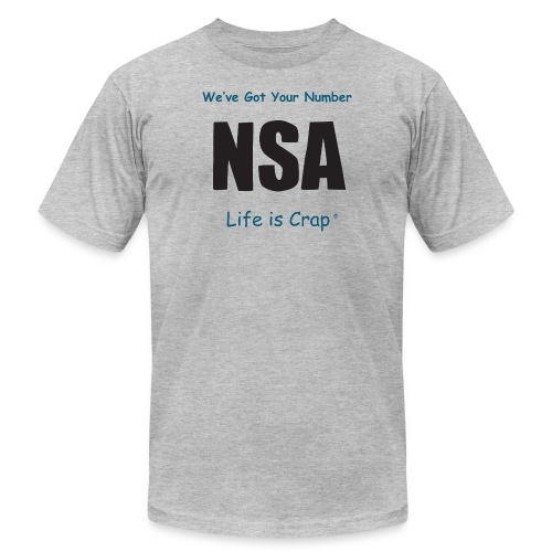 lic609 nsa b - Men's Jersey T-Shirt