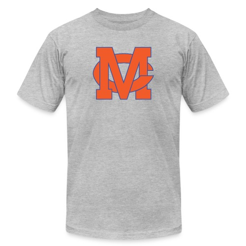 interlocking MC vector - Men's  Jersey T-Shirt