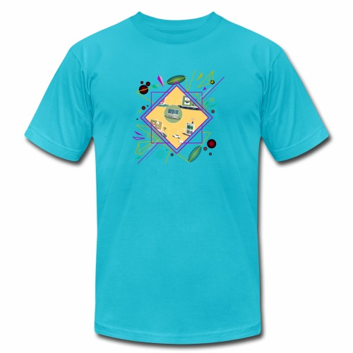crypto clothing computer connecting - Unisex Jersey T-Shirt by Bella + Canvas
