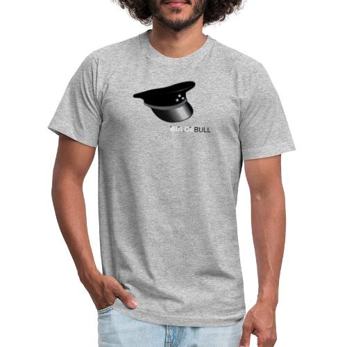 BULGEBULL LEATHER CAP - Unisex Jersey T-Shirt by Bella + Canvas