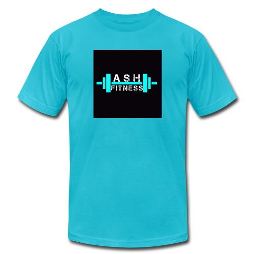 ASH FITNESS ACCESSORIES - Men's  Jersey T-Shirt