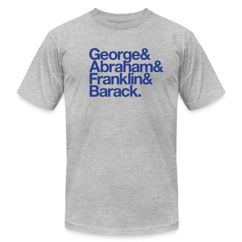 georgeandbarack - Unisex Jersey T-Shirt by Bella + Canvas