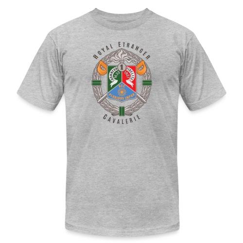 1er REC - 1 REC - Legion - Badge - Dark - Unisex Jersey T-Shirt by Bella + Canvas