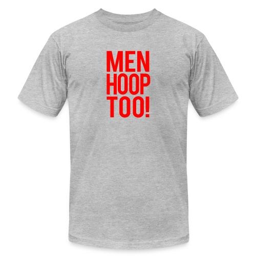 Red - Men Hoop Too! - Men's  Jersey T-Shirt