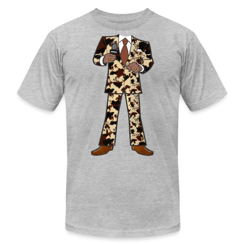 The Classic Cow Suit - Unisex Jersey T-Shirt by Bella + Canvas