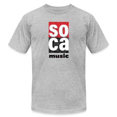 Soca music - Unisex Jersey T-Shirt by Bella + Canvas