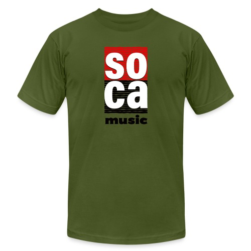 Soca music - Men's Jersey T-Shirt