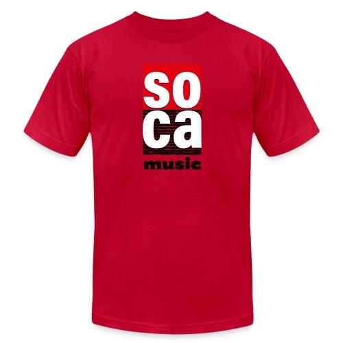 Soca music - Men's  Jersey T-Shirt