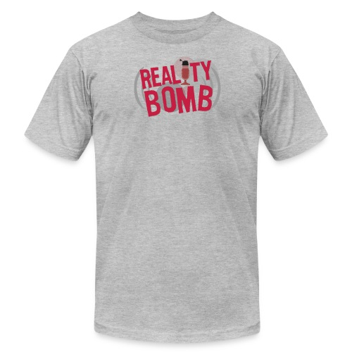 Reality Bomb logo png - Unisex Jersey T-Shirt by Bella + Canvas