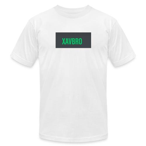 xavbro green logo - Unisex Jersey T-Shirt by Bella + Canvas
