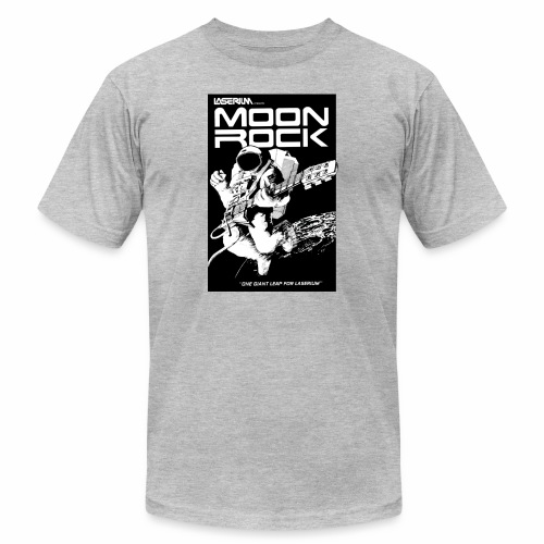 MOONROCK, One Giant Leap for Laserium - Unisex Jersey T-Shirt by Bella + Canvas