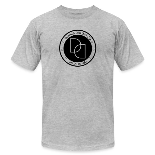 Davies Drums Logo (no BG) - Unisex Jersey T-Shirt by Bella + Canvas